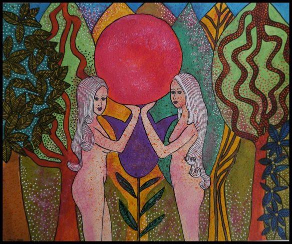 Goddess Blissful Art
