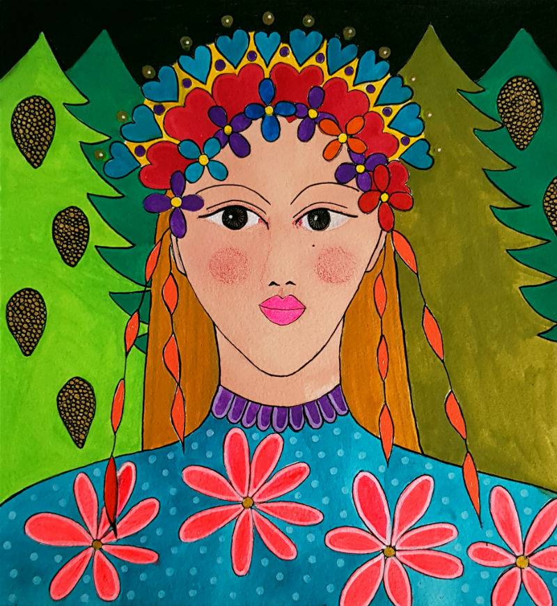Painting Goddess